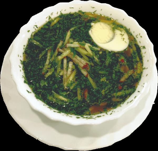 Окрошка (холодный, сезонное блюдо)