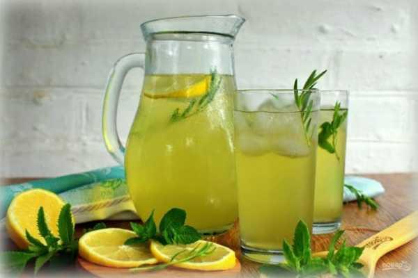 Лимонад домашний лимонный